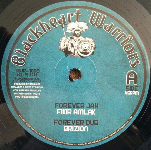Fikir Amlak & Brizion ‎– Forever Jah / New Song