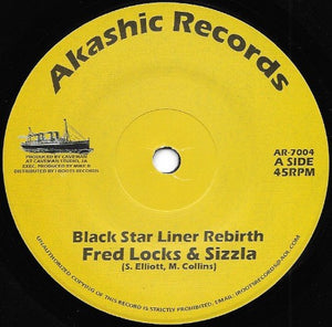Fred Locks & Sizzla ‎– Black Star Liner Rebirth
