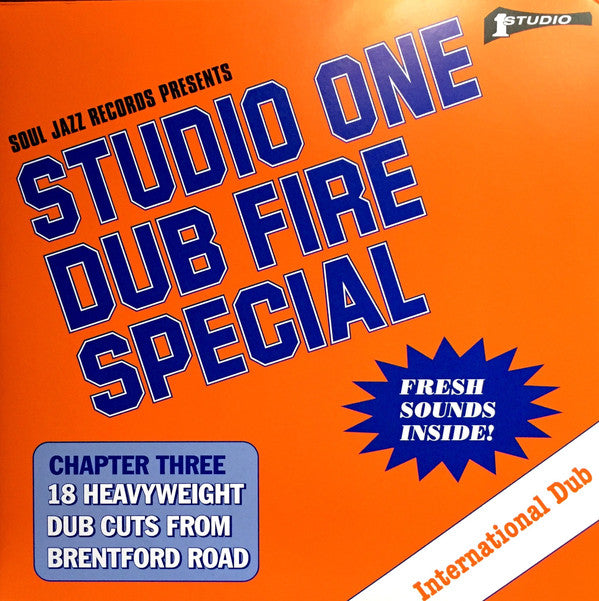 Dub Specialist ‎– Studio One Dub Fire Special (Chapter Three: 18 Heavyweight Dub Cuts From Brentford Road)