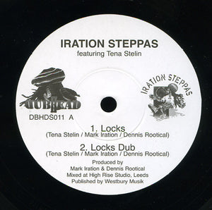 Iration Steppas Featuring Tena Stelin / Iration Steppas ‎– Locks / Marching Dub