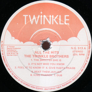 Twinkle Brothers ‎– All The Hits From 1970 - 1988