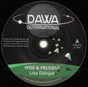 Lisa Dainjah ‎– Wise & Prudent