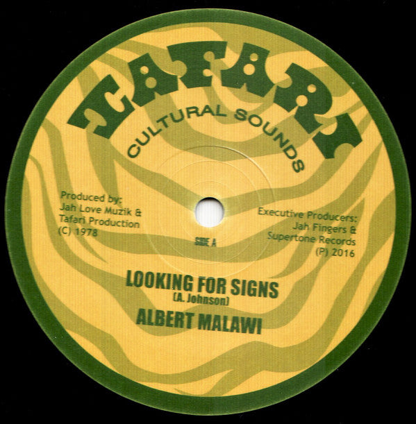 Albert Malawi, Brigadier Jerry ‎– Looking For Signs / Conscious Time