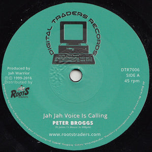 Peter Broggs / Jah Warrior ‎– Jah Jah Voice Is Calling