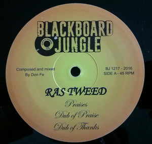 Ras Tweed / Jacko ‎– Praises / Farmer Song