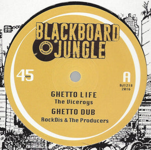 The Viceroys / Nish Wadada ‎– Ghetto Life / Tafari