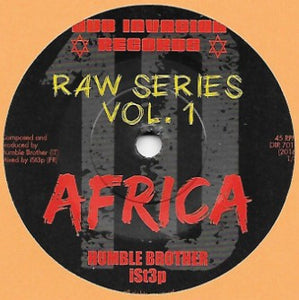 Humble Brother / iSt3p ‎– Africa / Warrior Dub