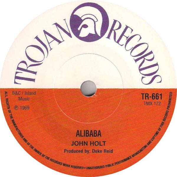 John Holt - Ali Baba / I'm Your Man