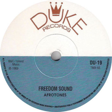 The Afrotones - Freedom Sound / The Boys - Easy Sounds