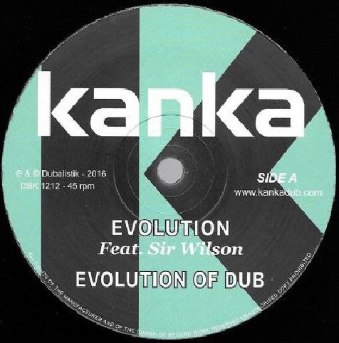 Kanka Feat. Sr. Wilson / Don Fe ‎– Evolution / Turn The Pages