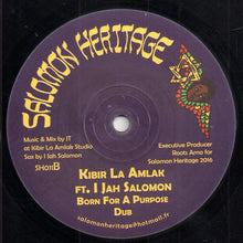 Ashanti Selah Ft. The Samsonites / Kibir La Amlak Ft. I Jah Salomon ‎– All Tribes Unite / Born For A Purpose