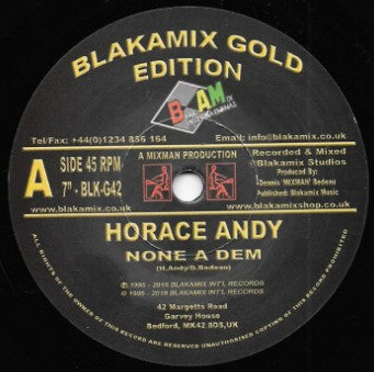 Horace Andy ‎– None A Dem