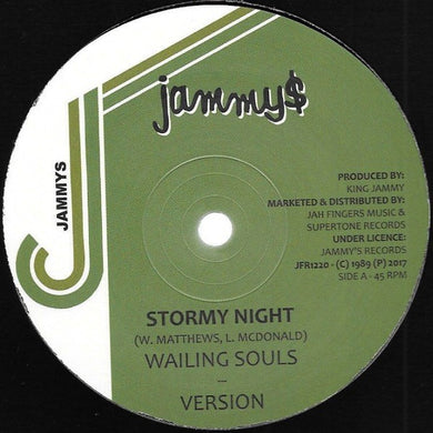 Wailing Souls / Robert Lee ‎– Stormy Night / Lovely Lady