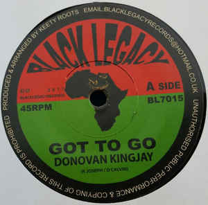 Donovan Kingjay ‎– Got to Go