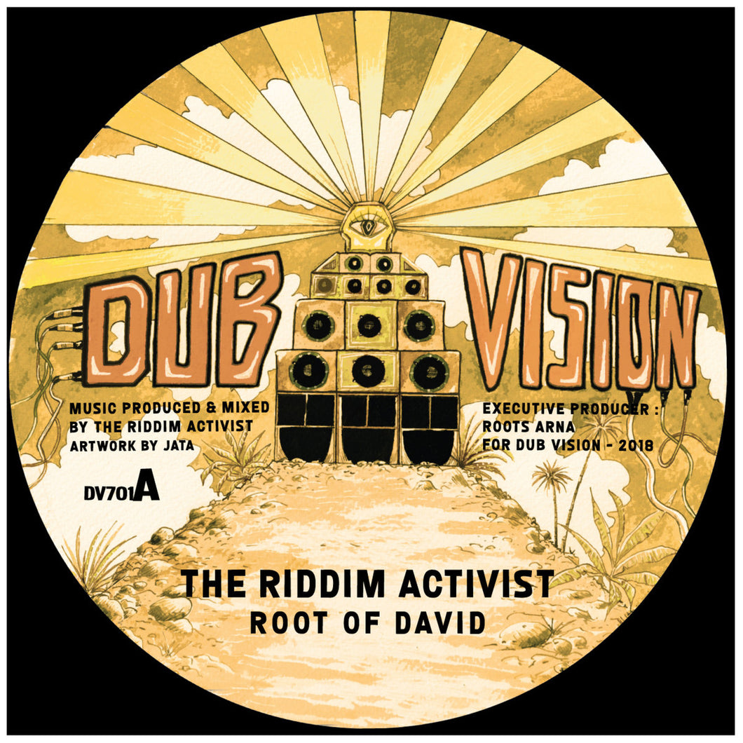 Dub Vision The Riddim activist by Jata