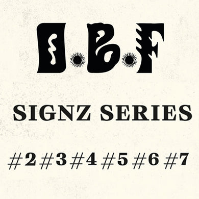 OBF - FULL SIGNZ SERIES VINYL PACKAGE #2 #3 #4 #5 #6 #7