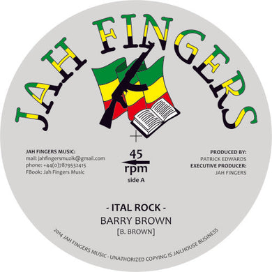 Barry Brown ‎– Ital Rock