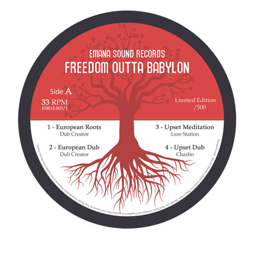 Dubcreator, Lion Station, Chazbo, Art Man ft Ruben Iyah Shanti ft Mexican Stepper ‎– Freedom Outta Babylon