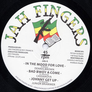 Dennis Brown, Cassanova, Junior Brammer, Al Campbell, Bunk I ‎– In The Mood For Love / Bad Boy A Come / Johnny Get Up / No Time To Waste