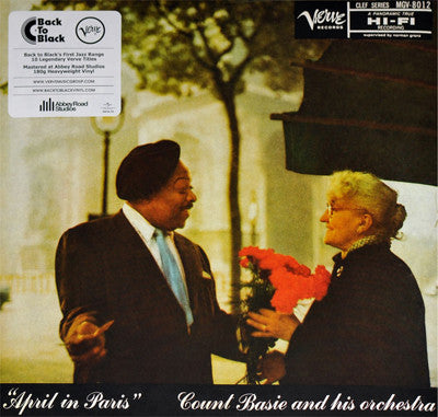 Count Basie And His Orchestra ‎– April In Paris - LP