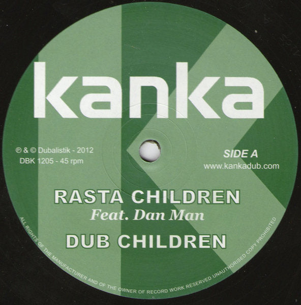 Kanka ‎– Rasta Children / We Ah Warrior
