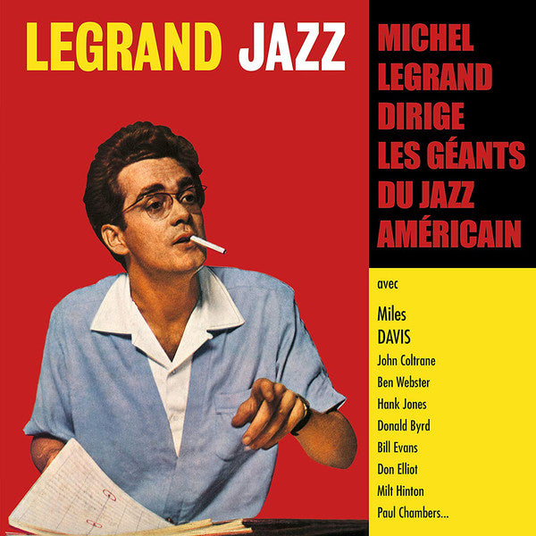 Michel Legrand ‎– Legrand Jazz - LP