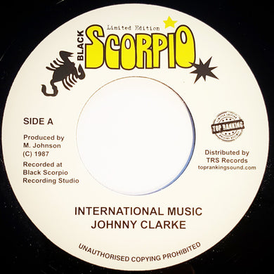 Johnny Clarke ‎– International Music
