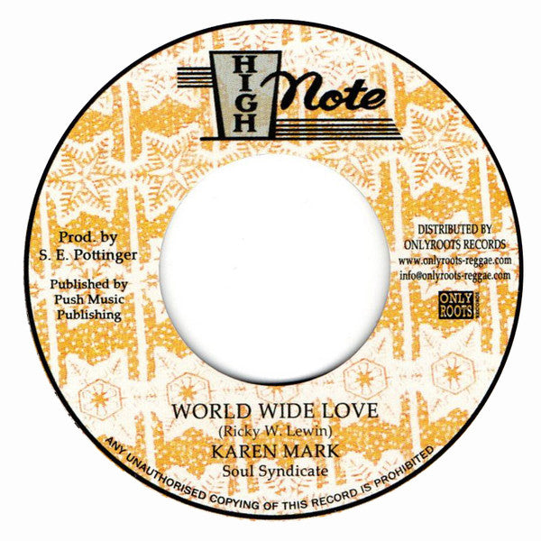 Karen Mark, The Soul Syndicate ‎– World Wide Love