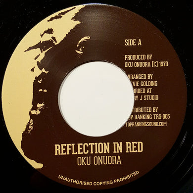 Oku Onuora ‎– Reflection In Red