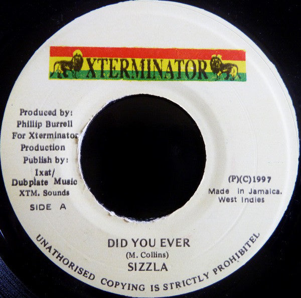 Sizzla ‎– Did You Ever