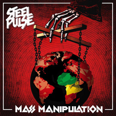 Steel Pulse ‎– Mass Manipulation - LP