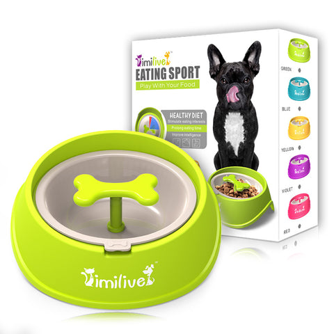 slow speed food bowl for dogs