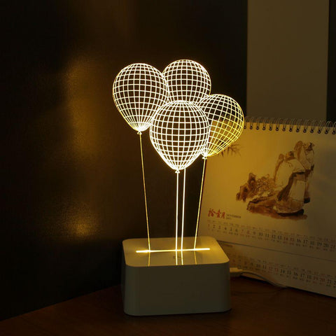 3D touch lamp - Balloons