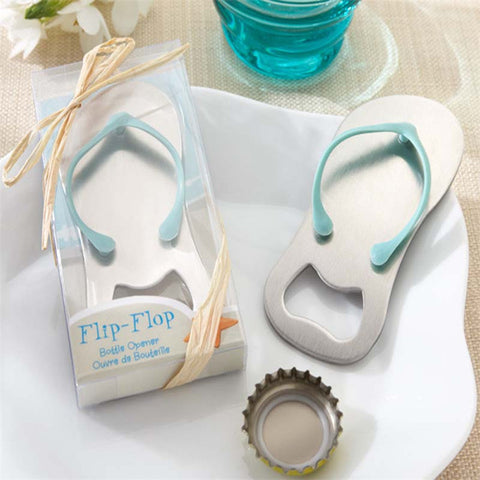 Flip Flop Shaped Bottle Opener - Pool Party Time!
