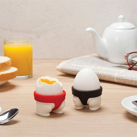 Silicone Sumo Egg Cup Holder