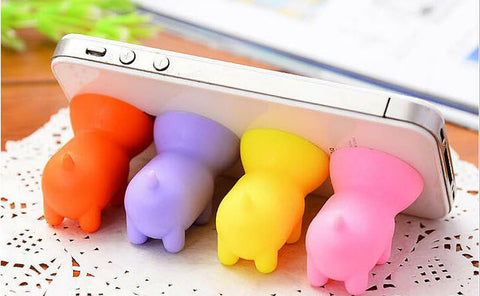 Free Item of the Week - Mini Pig Mobile Phone Stand