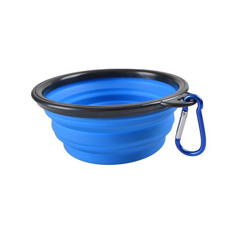 Collapsible Portable Food & Water Bowl For Dogs & Cats