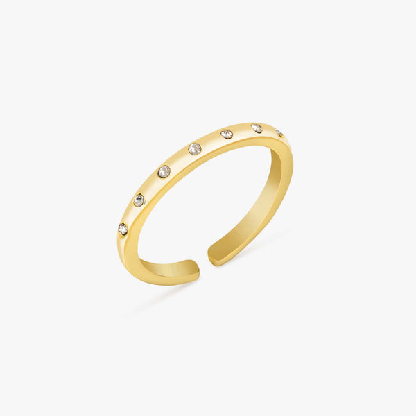 Lizzie Gold Ring