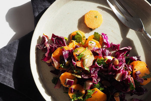Quick Spring Salad by GETInspired.Mag