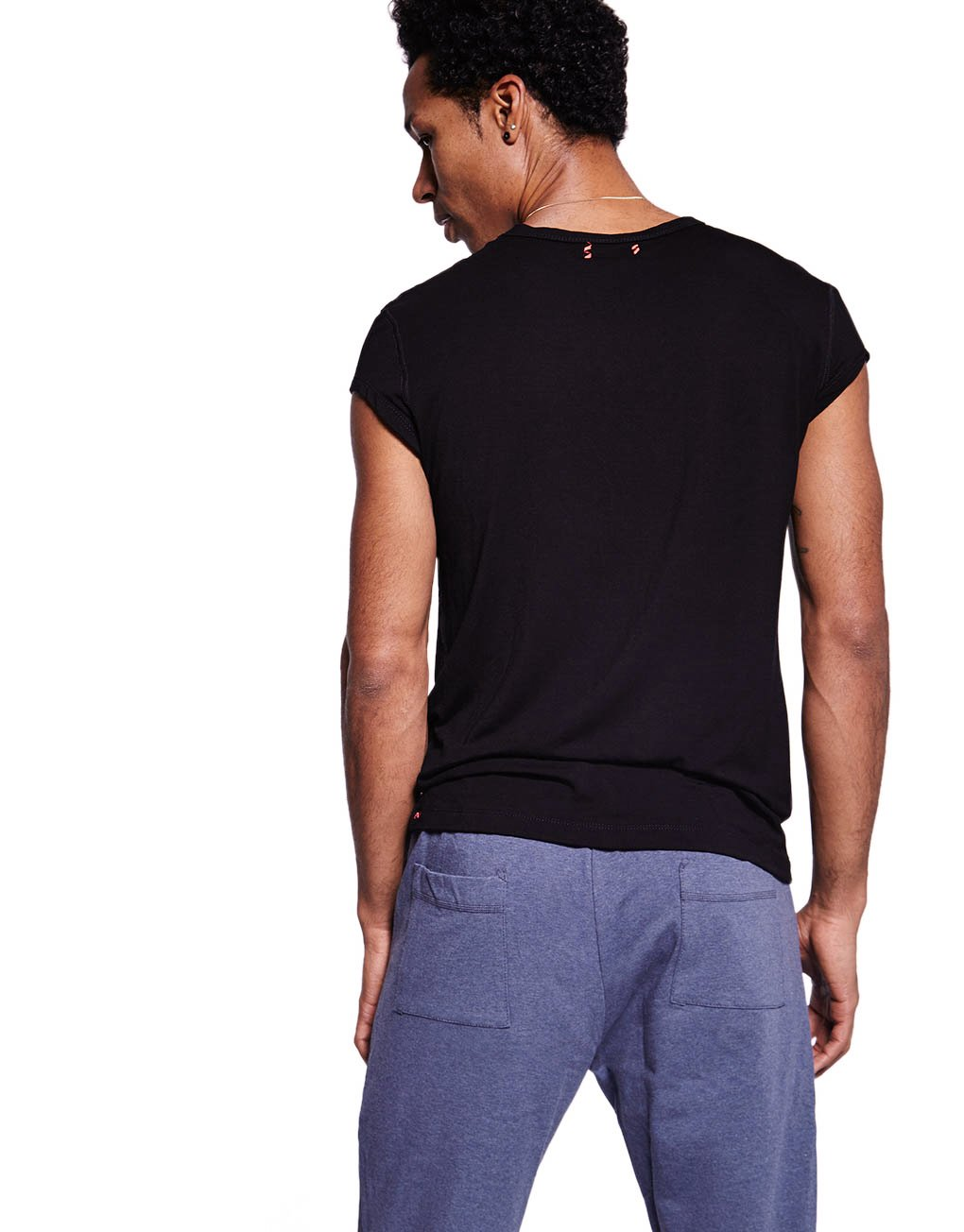Deep Well Bamboo Fitted Tee