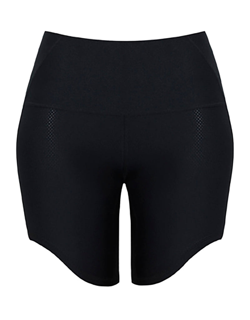 Shakerato Women Black Yoga Shorts