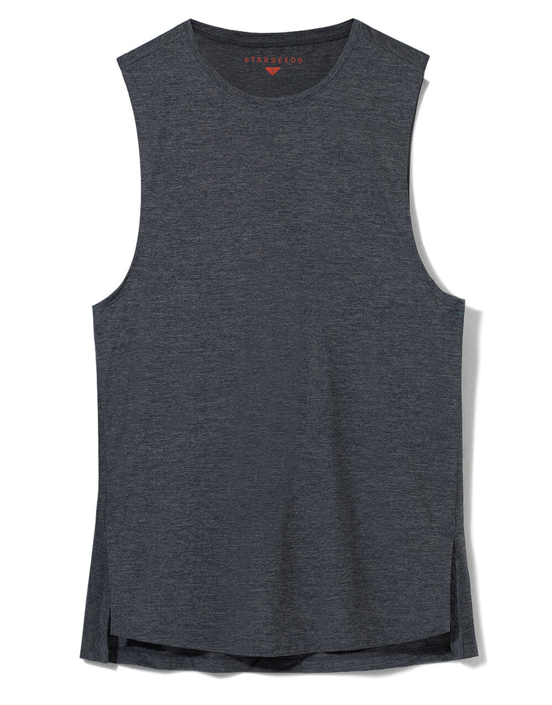 Cafe Solo Men Grey Tanktop