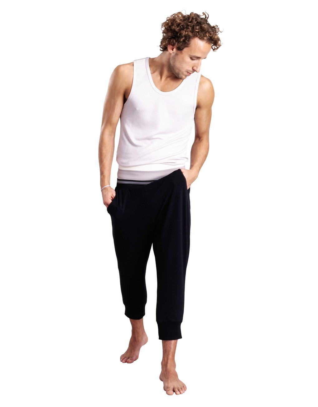 Moonlight 3/4 Unisex Cotton Joggers