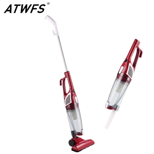 ATWFS Ultra Quiet Strength Mini Home Rod Vacuum Cleaner