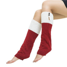 Women's Fashionable Winter Warmers Leggings - Knee High