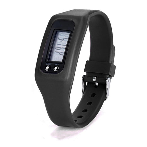 Digital LCD Fitness Tracker Wrist  Pedometer