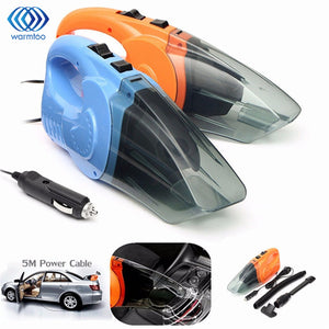 Portable Car Vacuum Cleaner - Dual use Wet & Dry