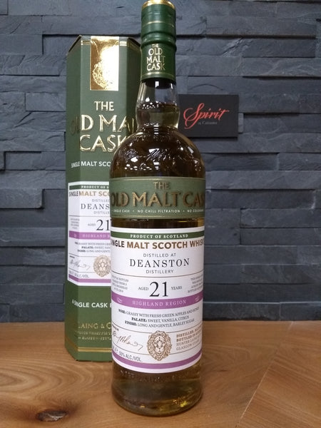 The Old Malt Cask Deanston 21 70cl