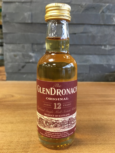 Glendronach 12 Year Old Miniature 50ml