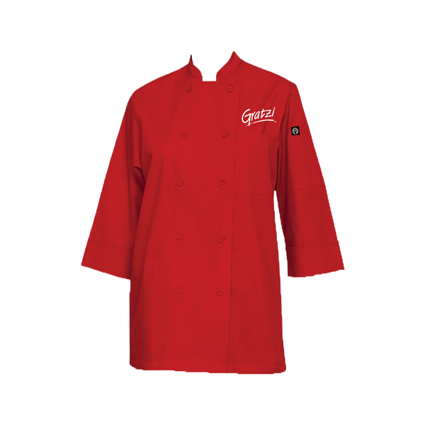 ChefWorks Morocco Chef Coat- Red